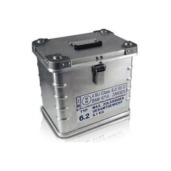 Caja de aluminio con aislamiento de neopor BioHazzardLogisticBox