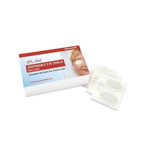 Cobertores oculares desechables IPL-Aid, caja de 50