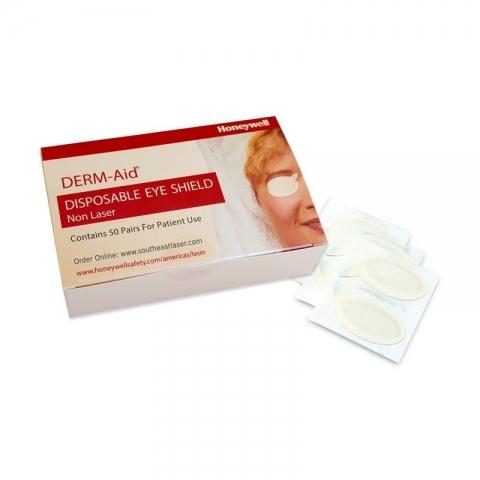 Cobertores oculares desechables Derm-Aid, caja de 50