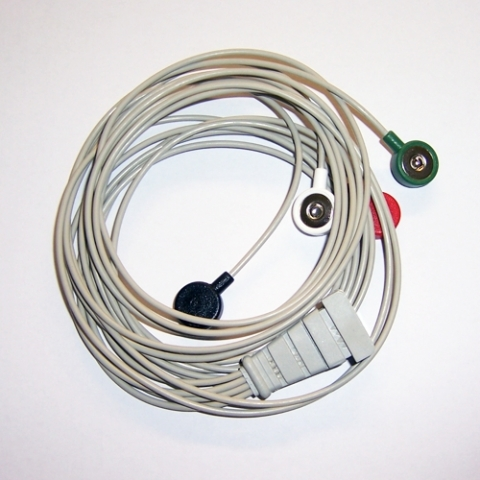 Cable Holter ECG para Reynolds Sherpa Tracker II