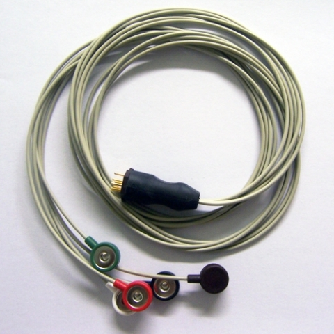 Cable Holter ECG para Oxford MR 10 y MR 14