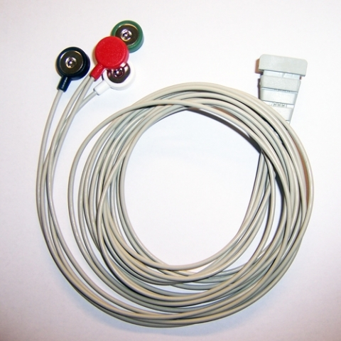 Cable Holter ECG para Reynolds Tracker