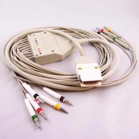 Cable paciente ECG para HP 4700, 4725A, 4745A, 4750A, 4760A, 4765A