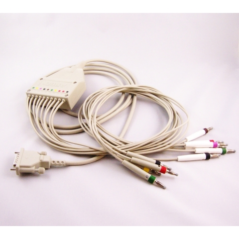 Cable paciente ECG para Esaote P80, Schiller AT1, AT2, AT2 Plus, AT4