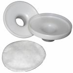 Carcasa reutilizable para membranas filtro bacteriano desechables
