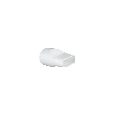 Boquilla adaptador plástico reutilizable, diseño tubo oval