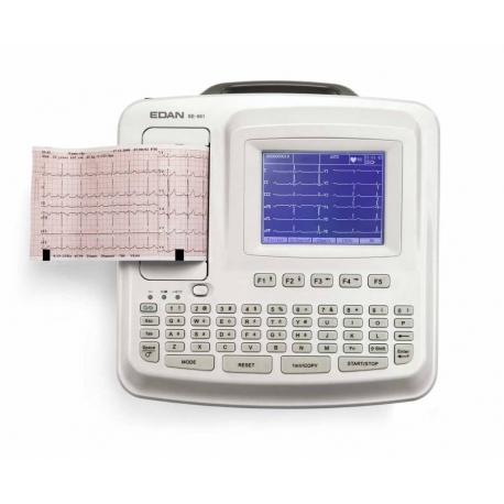Electrocardiógrafo de 3, 4 y 6 canales SE-601B con pantalla LCD