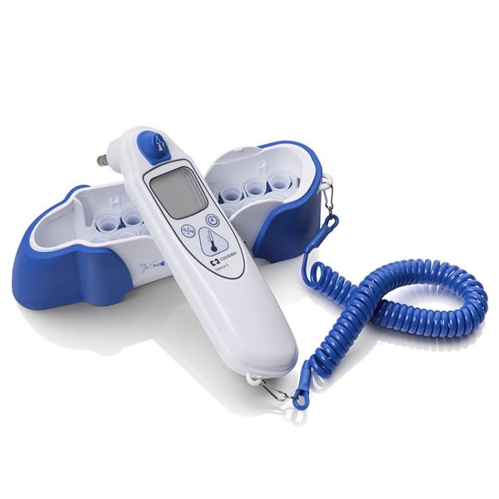 Termometro Timpanico Genius 3 Medical Direct Desde su invención ha evolucionado mucho, principalmente a partir del desarrollo de los termómetros digitales. medical direct