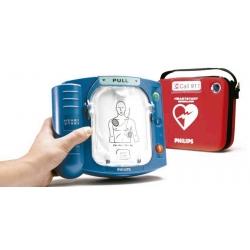 Desfibrilador semiautomático HeartStart HS1 de Philips