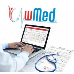 Software wMed PC para báscula profesional WBA con análisis de composición corporal