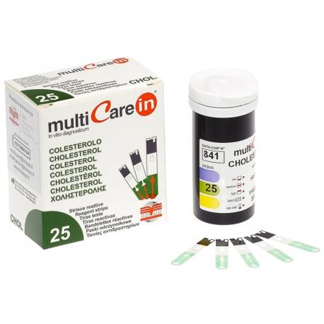 Tira reactiva colesterol para multiCare-in