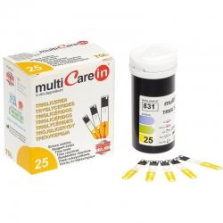 Tira reactiva triglicéridos para multiCare-in
