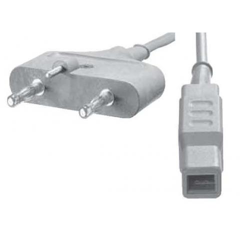 Cable bipolar conectores tipo Valleylab autobipolar y pinza europea longitud 3 metros