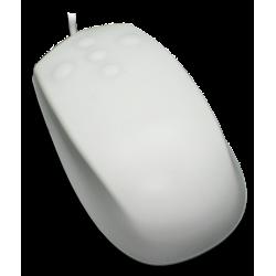 Ratón mouse grado médico USB blanco