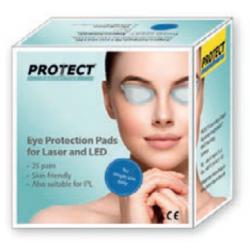Caja 25 pares cobertores oculares Laser, LED, IPL
