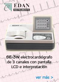 electrocardiógrafo SE-3W